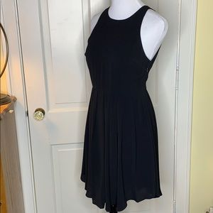 Lush black dress with pleated skirt Size Small